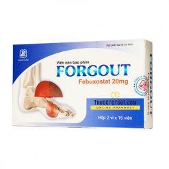 Forgout chiến binh đắc lực điều trị gút thuoctotso1.com