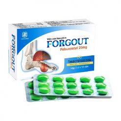 Forgout chiến binh đắc lực điều trị gút TW3