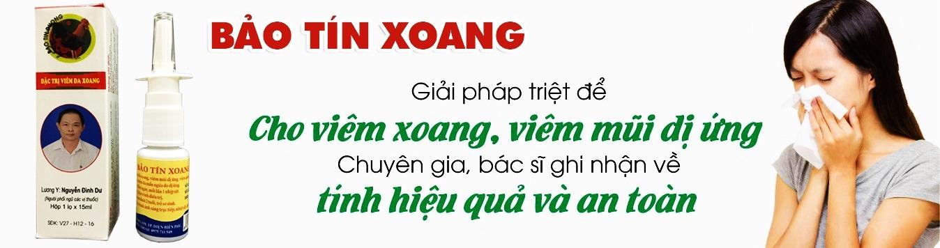 thuốc đông dược Bảo Tín Xoang đặc trị viêm đa xoang