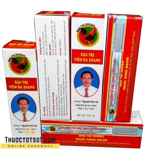 thuốc đông dược Bảo Tín Xoang đặc trị viêm đa xoang chính hãng