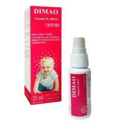 vitamin D3 dạng xịt Dimao cho trẻ thêm cao thuoctotso1