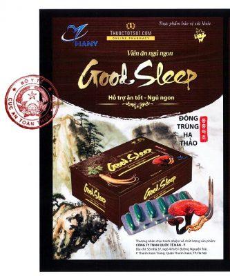 Good Sleep ăn tốt ngủ ngon không còn mệt mỏi Bộ Y tế xác nhận