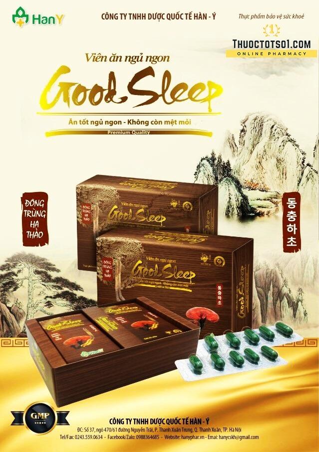 Good Sleep ăn tốt ngủ ngon không còn mệt mỏi Hàn Ý