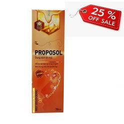 xịt mũi keo ong Proposol tái tạo mao mạch mũi bị viêm thuoctotso1.com