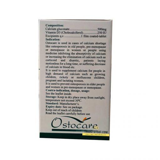 Ostocare thuốc cung cấp calci hữu cơ và vitamin D3 chất lượng cao