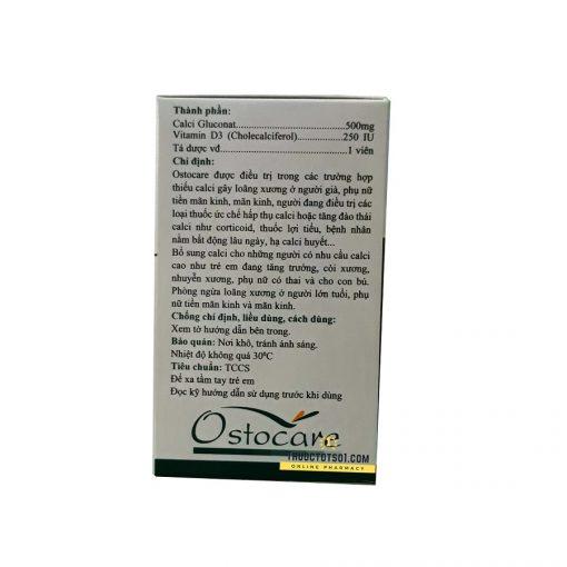 Ostocare thuốc cung cấp calci hữu cơ và vitamin D3 thuốc điều trị
