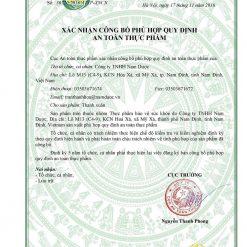 viên uống chống rụng tóc nam Thanh Xuân Nam Dược an toàn thực phẩm