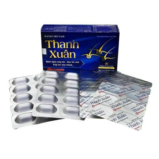 viên uống chống rụng tóc nam Thanh Xuân Nam Dược Ích Nhân