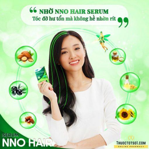 serum dưỡng tóc NNO Hair ngăn ngừa 7 dấu hiệu tóc hư tổn chất lượng cao