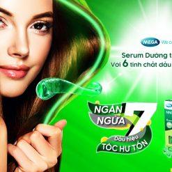 serum dưỡng tóc NNO Hair ngăn ngừa 7 dấu hiệu tóc hư tổn chính hãng