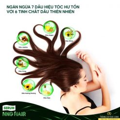 serum dưỡng tóc NNO Hair ngăn ngừa 7 dấu hiệu tóc hư tổn thành phần
