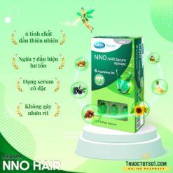 serum dưỡng tóc NNO Hair ngăn ngừa 7 dấu hiệu tóc hư tổn thiên nhiên