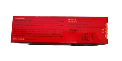 độc hoạt tang ký sinh TW3 trừ phong thấp bổ khí huyết thảo dược