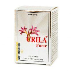 thuốc Crila Forte điều trị tuyến tiền liệt và u xơ tử cung thảo dược