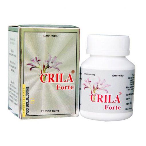 thuốc Crila Forte điều trị tuyến tiền liệt và u xơ tử cung Thiên Dược