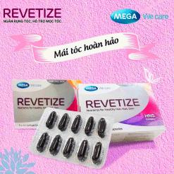 viên uống giảm rụng tóc Revetize kích thích mọc tóc giúp tóc chắc khỏe hiệu quả