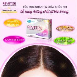 viên uống giảm rụng tóc Revetize kích thích mọc tóc giúp tóc chắc khỏe thành phần