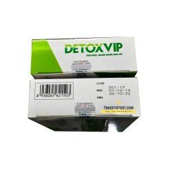 viên thải độc tế bào Detoxvip giảm nguy cơ u bướu chính hãng