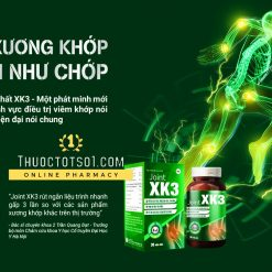 viên xương khớp XK3 công thức đột phá bộ 3 khỏe xương khớp nhanh như chớp