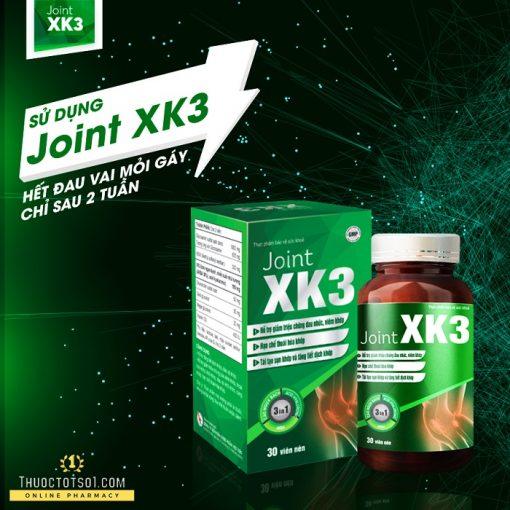 viên xương khớp XK3 công thức đột phá rút ngắn liệu trình 2 tuần hết đau