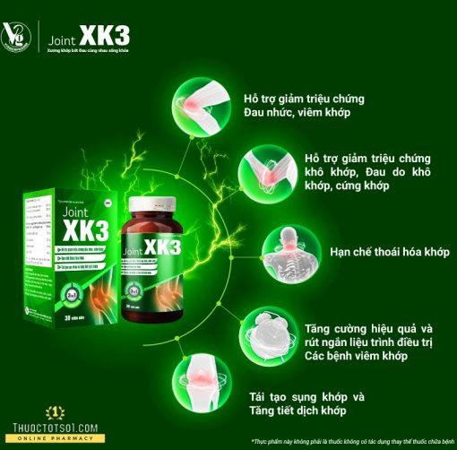 viên xương khớp XK3 công thức đột phá rút ngắn liệu trình