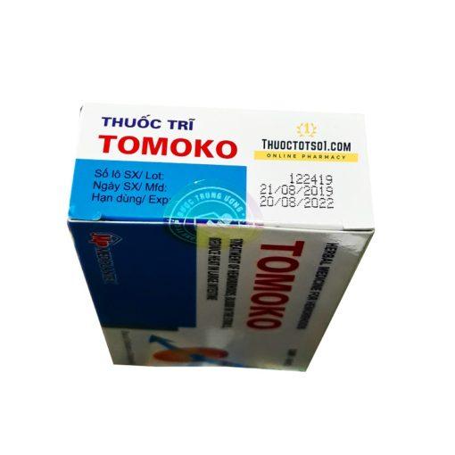 thuốc trĩ Tomoko điều trị trĩ táo bón đi ngoài ra máu chất lượng cao