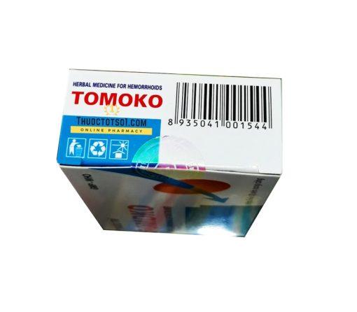 thuốc trĩ Tomoko điều trị trĩ táo bón đi ngoài ra máu hàng chính hãng