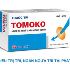 thuốc trĩ Tomoko điều trị trĩ táo bón đi ngoài ra máu ngăn ngừa tái phát