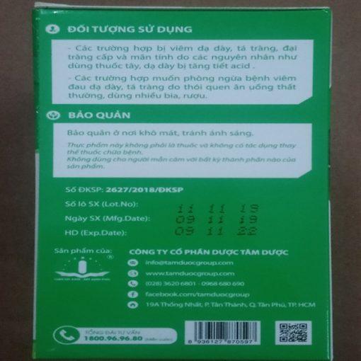 chè dây Bình Vị Gel điều trị viêm loét dạ dày do vi khuẩn HP Tâm Dược