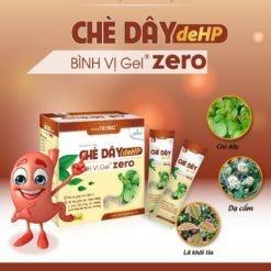 chè dây Bình Vị Gel Zero điều trị viêm loét dạ dày cho người tiểu đường thành phần thảo mộc