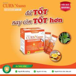 Curmin Nano Bình Vị Gel Zero giảm viêm đau trào ngược dạ dày cho người tiểu đường hiệu quả nhanh