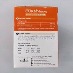 Curmin Nano Bình Vị Gel Zero giảm viêm đau trào ngược dạ dày cho người tiểu đường Tâm Dược