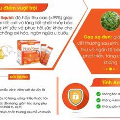 Curmin Nano Bình Vị Gel Zero giảm viêm đau trào ngược dạ dày cho người tiểu đường ưu điểm vượt trội