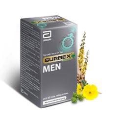 bổ thận tráng dương Surbex Men hỗ trợ tăng cường sinh lý nam giới thuoctotso1