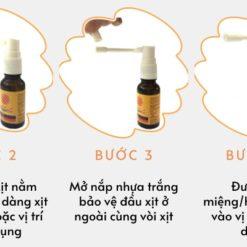 xịt họng keo ong Propobee spray hết viêm họng giảm ho nhanh chóng hướng dẫn sử dụng