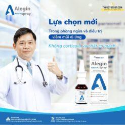 xịt viêm mũi dị ứng Alegin an toàn cho trẻ nhỏ phụ nữ có thai thuoctotso1.com