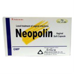 thuốc đặt âm đạo Neopolin điều trị viêm nhiễm phụ khoa 12 viên nang mềm