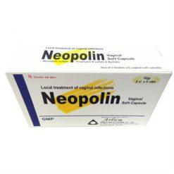 thuốc đặt âm đạo Neopolin điều trị viêm nhiễm phụ khoa công thức 3 kháng sinh