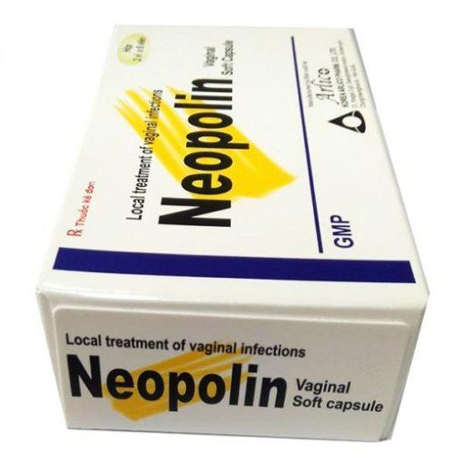 thuốc đặt âm đạo Neopolin điều trị viêm nhiễm phụ khoa hàng chính hãng