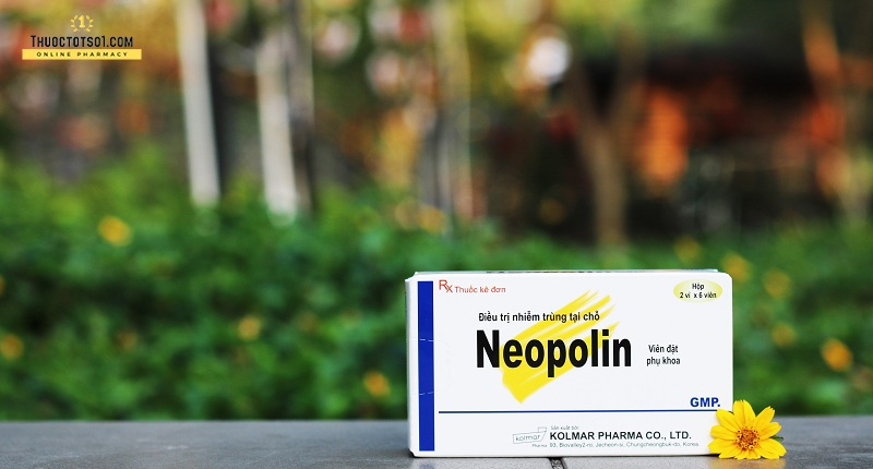 thuốc đặt âm đạo Neopolin điều trị viêm nhiễm phụ khoa nhập khẩu Hàn Quốc