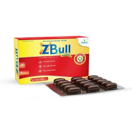 viên tăng lực Zbull bồi bổ cơ thể từ nhân sâm tỏi đen thuoctotso1