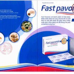 Fast Pavomin giảm ốm nghén chán ăn buồn nôn cho mẹ bầu chính hãng