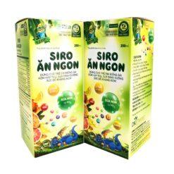 Siro Ăn Ngon giúp bé ăn ngon miệng tăng cường hấp thu chất lượng cao