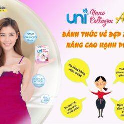 Uni Nano Collagen giúp đẹp da tăng cường nội tiết tố nữ chất lượng cao