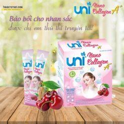 Uni Nano Collagen giúp đẹp da tăng cường nội tiết tố nữ thuoctotso1