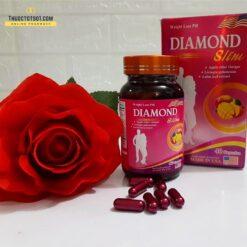 viên giảm cân Mỹ Diamond Slim giúp giảm béo an toàn hiệu quả 1 viên mỗi ngày