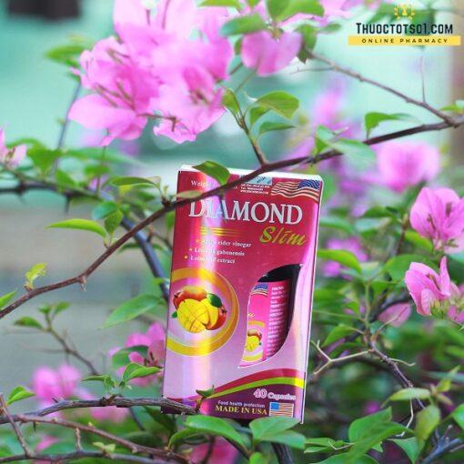 viên giảm cân Mỹ Diamond Slim giúp giảm béo an toàn hiệu quả chất lượng cao