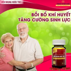 Viên Nhung Hươu TW3 bổ huyết mạnh gân cốt bồi bổ cơ thể tăng cường sinh lực