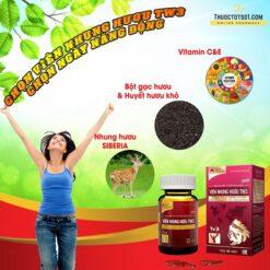 Viên Nhung Hươu TW3 bổ huyết mạnh gân cốt bồi bổ cơ thể thành phần thiên nhiên