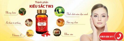 viên nội tiết Kiều Sắc TW3 giúp tăng cường nội tiết tố nữ thành phần thiên nhiên